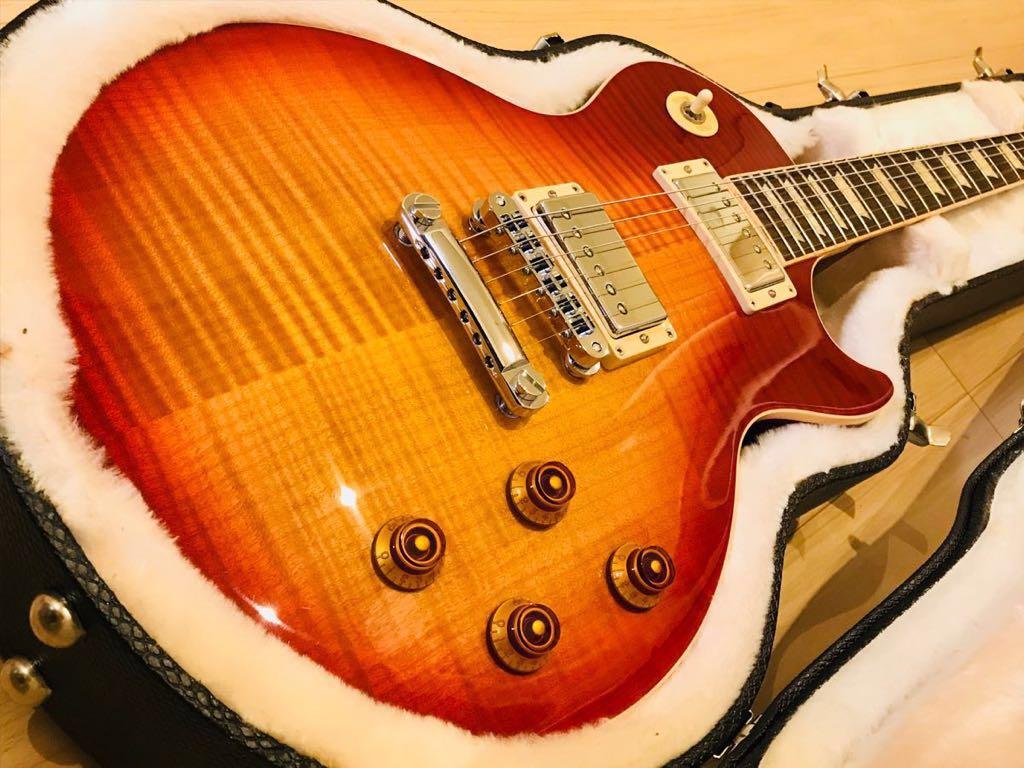 極上美品 ギブソン レスポール スタンダード Gibson Les Paul Standard Heritage Cherry Sunburst チェリーサンバースト 2013年 AAAトップ_画像2