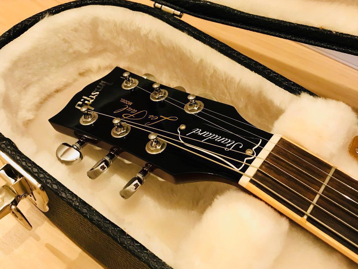 極上美品 ギブソン レスポール スタンダード Gibson Les Paul Standard Heritage Cherry Sunburst チェリーサンバースト 2013年 AAAトップ_画像3