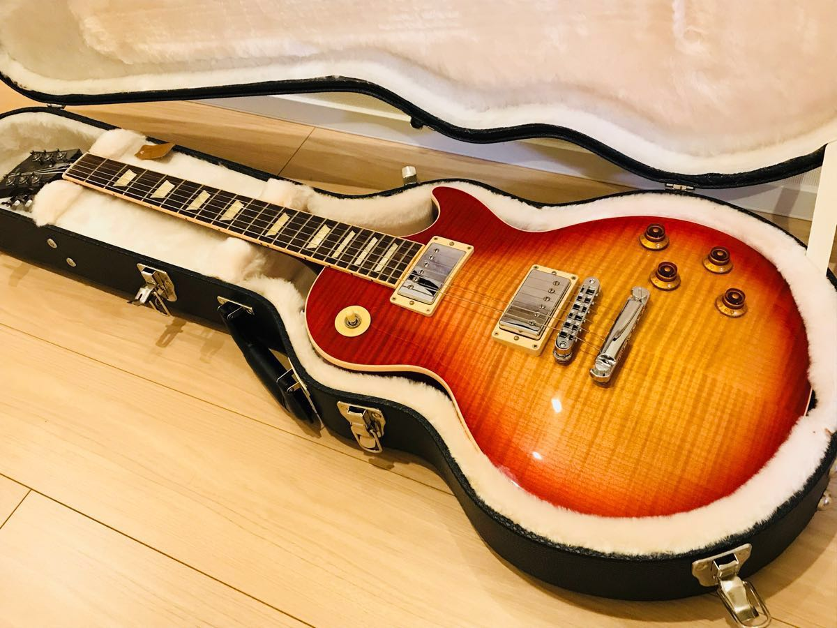 極上美品 ギブソン レスポール スタンダード Gibson Les Paul Standard Heritage Cherry Sunburst チェリーサンバースト 2013年 AAAトップ_画像1