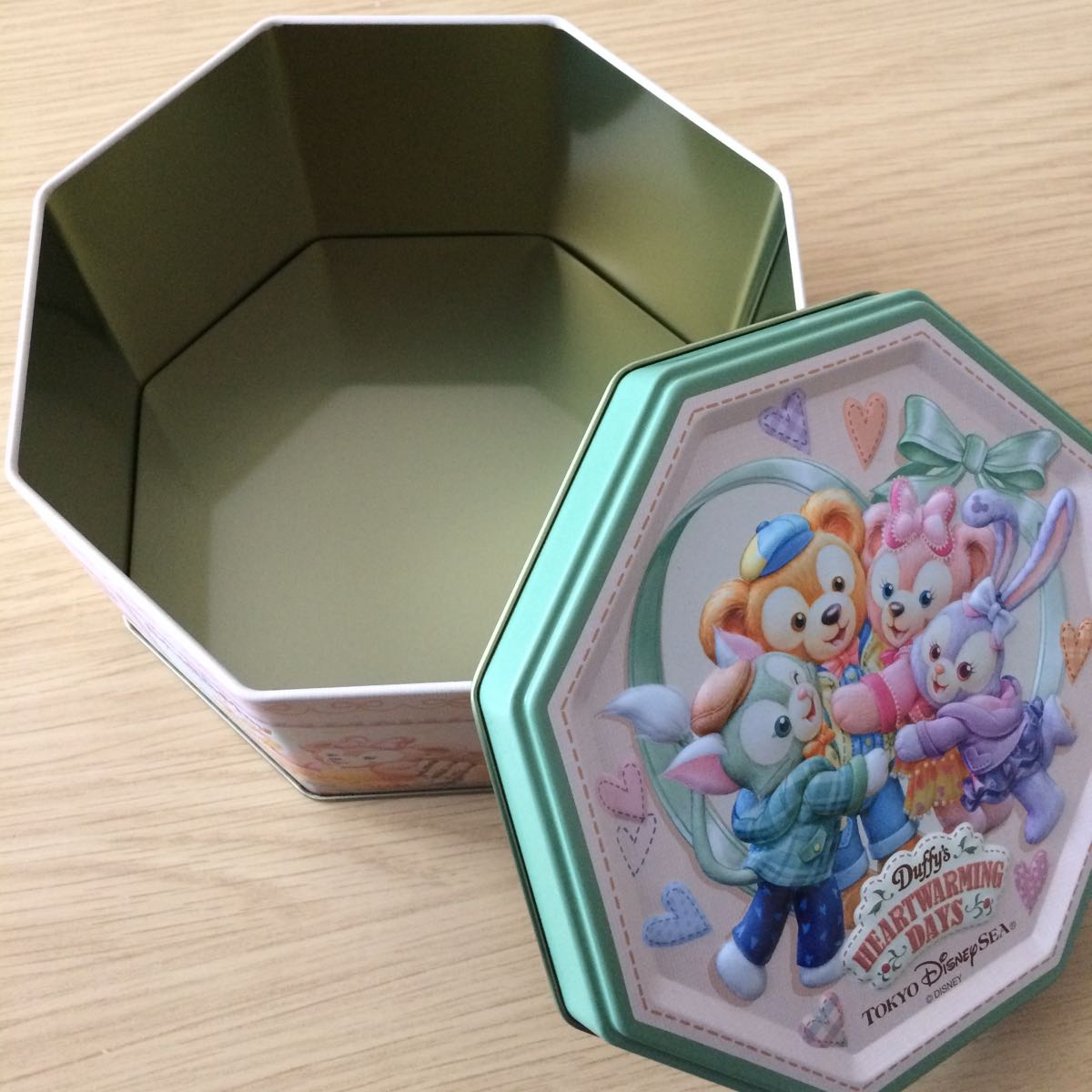 ディズニー 空き缶 ダッフィー シェリーメイ ステラルー ジェラトーニ_画像3