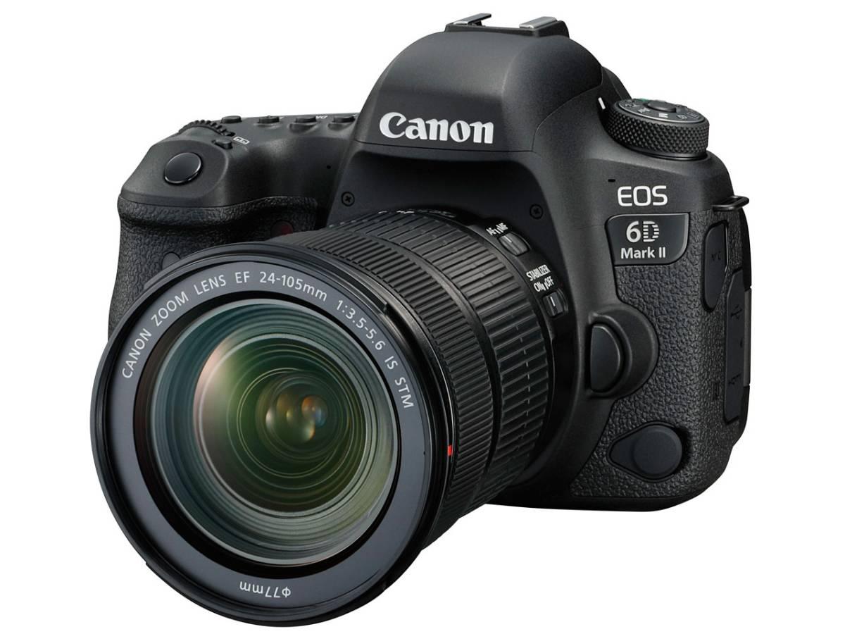 【新品未使用・保証書付】Canon キャノン EOS 6D Mark Ⅱ EF24-105 IS STM レンズキット★MarkⅡ