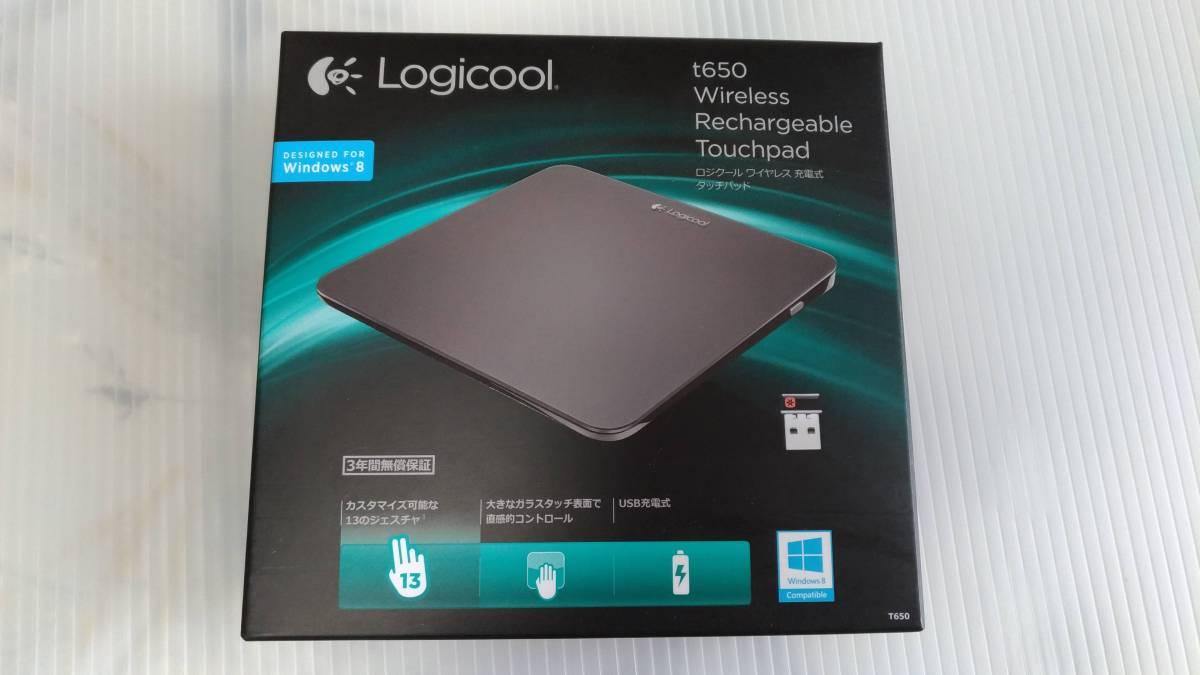 【美品】Logicool T650 ワイヤレス充電式タッチパッド ロジクール_画像4