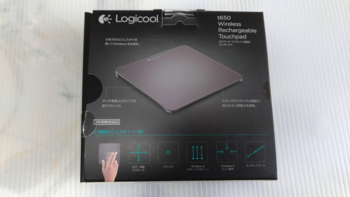 【美品】Logicool T650 ワイヤレス充電式タッチパッド ロジクール_画像5