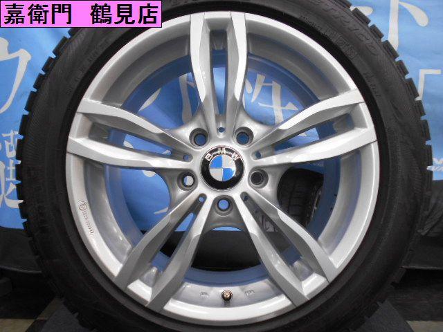 3月限定決算価格★MAK ルフト BMW専用設計★3シリーズ 4シリーズ X1 F30 F31 F32 F36 E84 等225/50-17 バリ山ランフラットスタッドレス付き