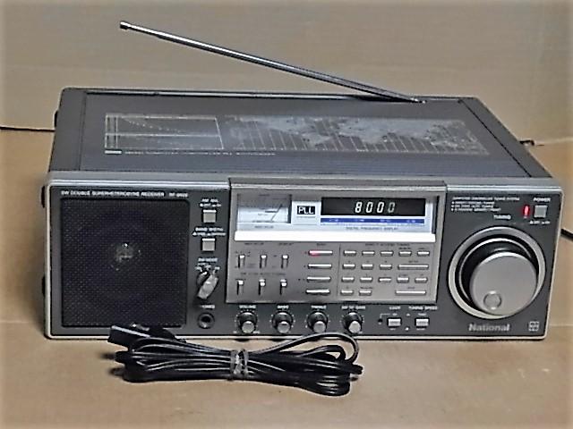 National Panasonic RF-B600 AN/FM/SW BAND RADIO ジャンク品 18031301