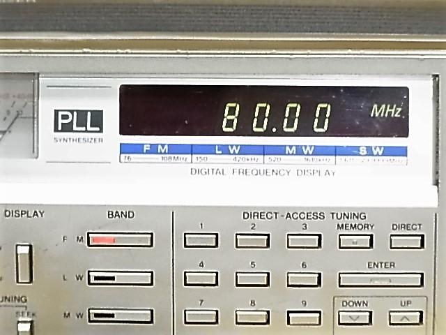 National Panasonic RF-B600 AN/FM/SW BAND RADIO ジャンク品 18031301_画像2