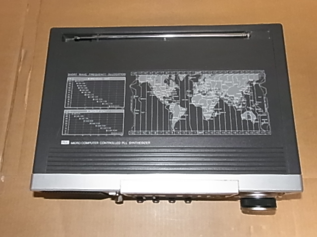 National Panasonic RF-B600 AN/FM/SW BAND RADIO ジャンク品 18031301_画像8