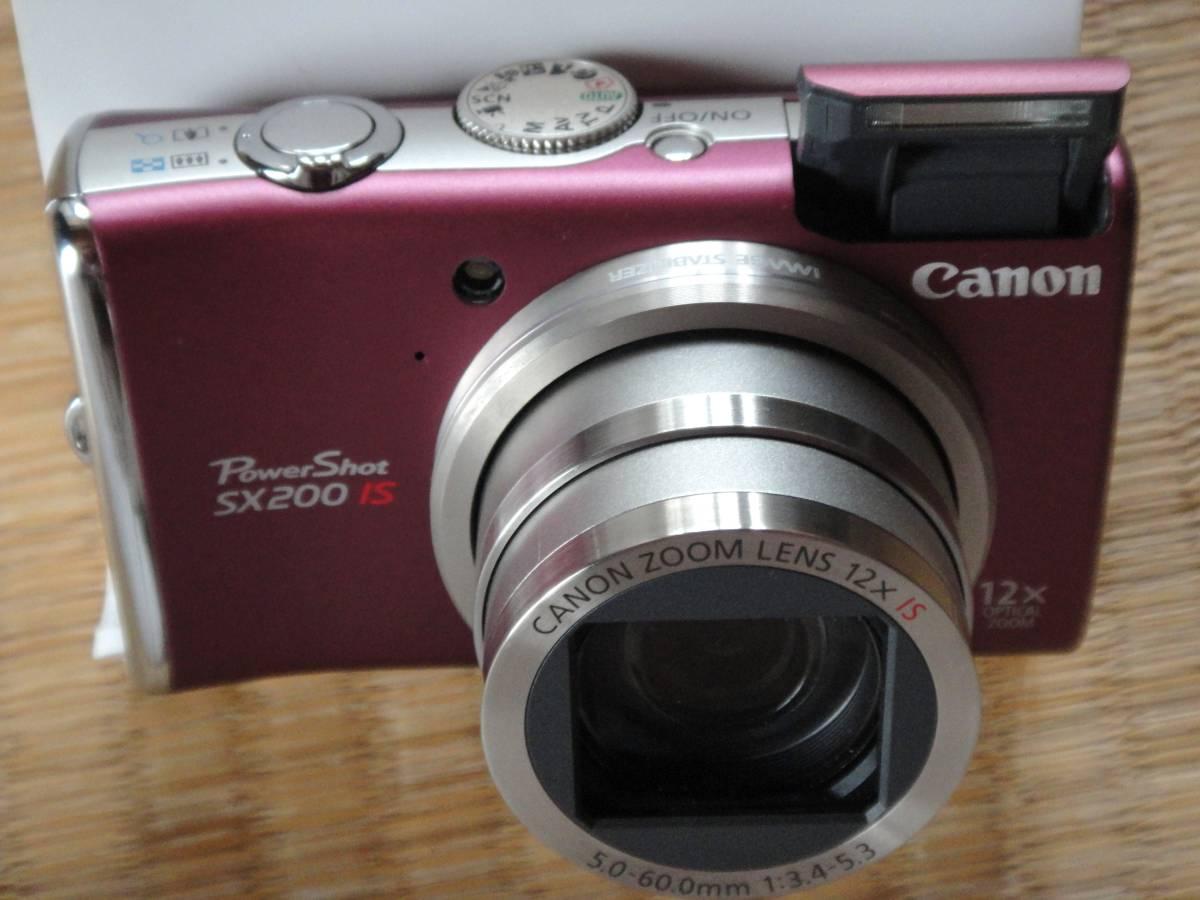 CANON デジタルカメラ PowerShot SX200 IS 美 品