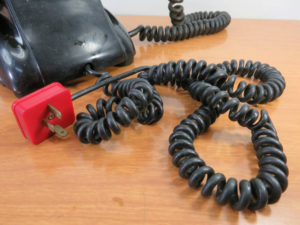 アンティーク 沖電気製 4号A自動式 黒電話_画像4