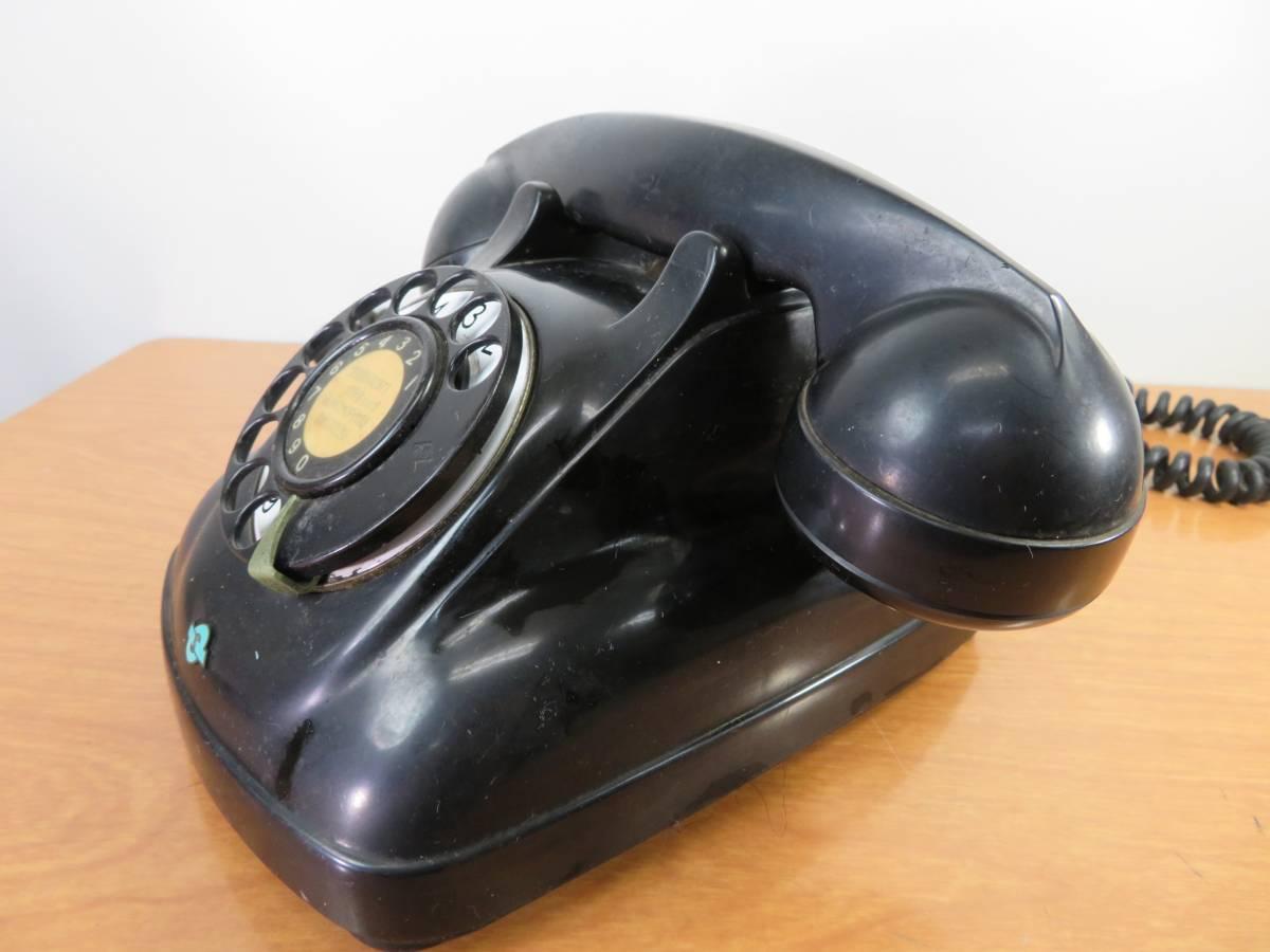 アンティーク 沖電気製 4号A自動式 黒電話_画像3
