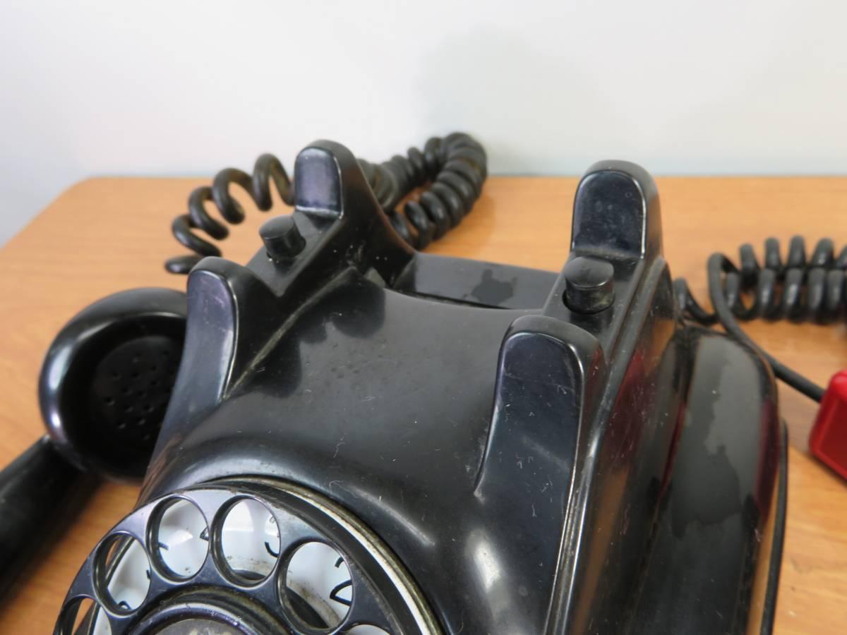 アンティーク 沖電気製 4号A自動式 黒電話_画像6