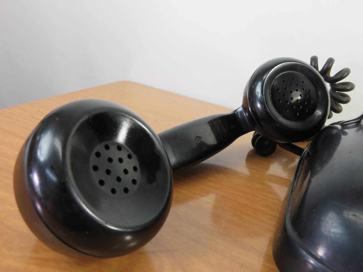 アンティーク 沖電気製 4号A自動式 黒電話_画像8