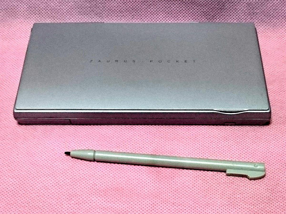 ★ジャンク★ SHARP Zaurus MI-110M ポケットザウルス 部品取りに_画像4