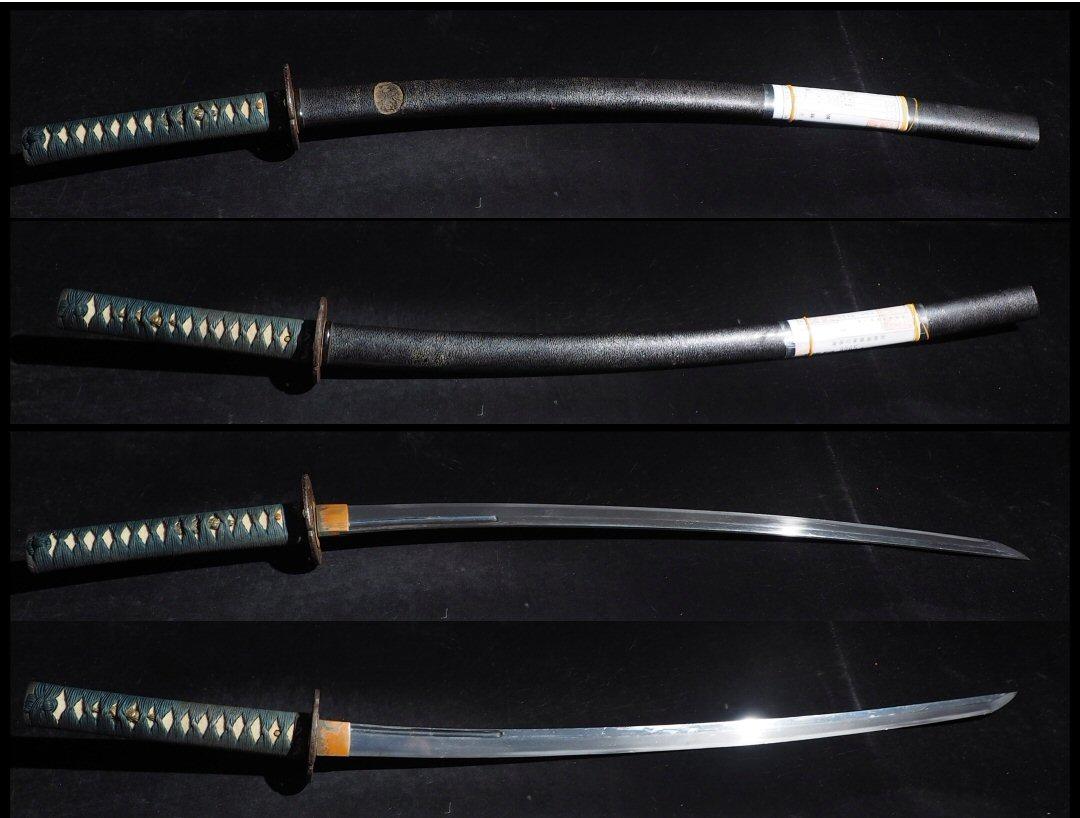 ◆刀剣女子の居合や抜刀 試切等に最適な手持ちの軽い刀 外装付 樋有 二尺二分三厘