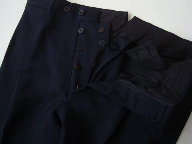Ermenegildo Zegna Napoli Couture 春夏 スーツ 三つボタン ネイビー ストライプ MOHAIR TROPHY  エルメネジルドゼニア 3ef9800d2e3