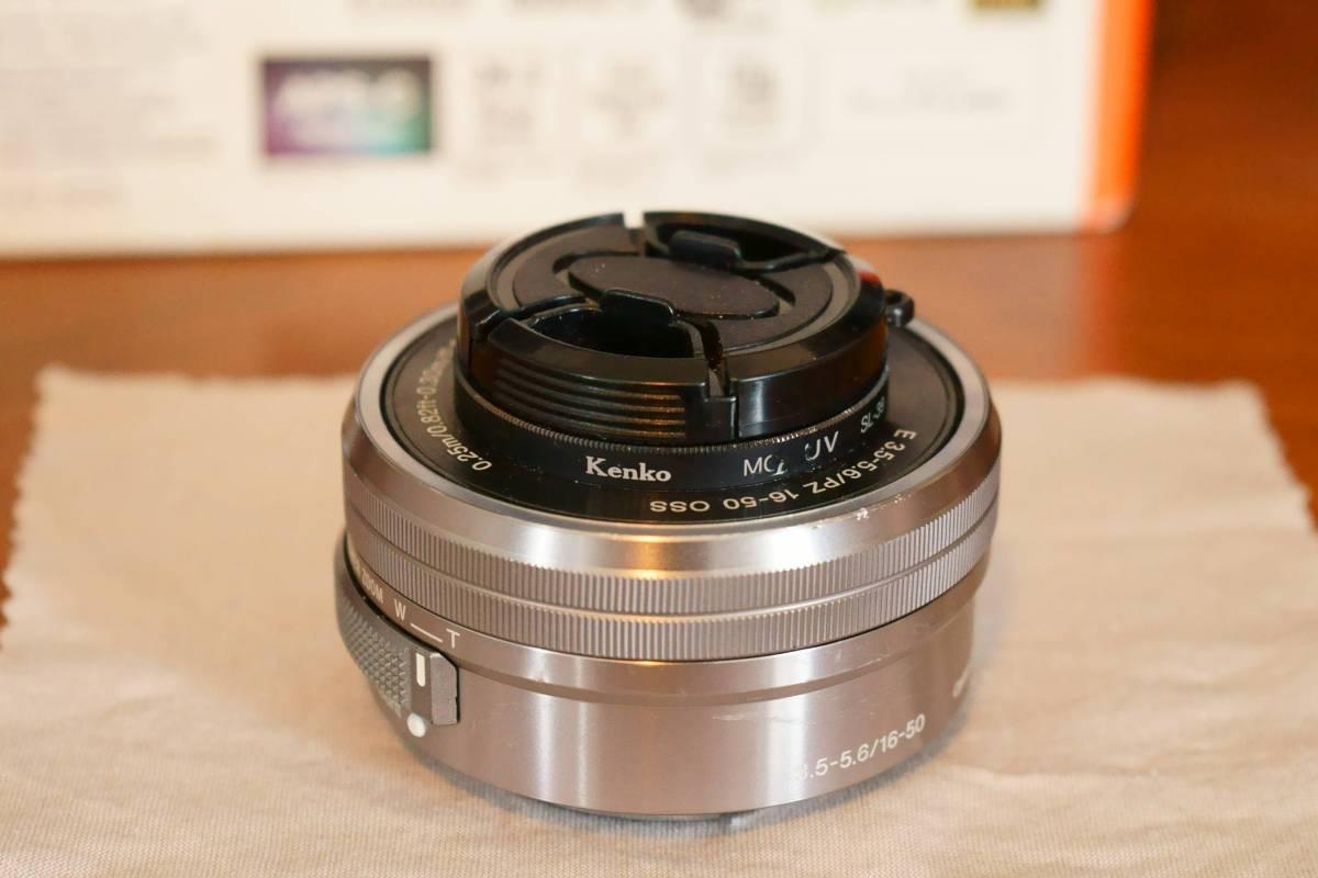 動作確認済★『 SELP1650 ソニー SONY E PZ 16-50mm 3.5-5.6 OSS シルバー 』★