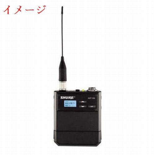 SHURE 新周波数帯 ボディーパック型送信機 AXT100-H18 518-578MHz 未使用 *H18_画像2