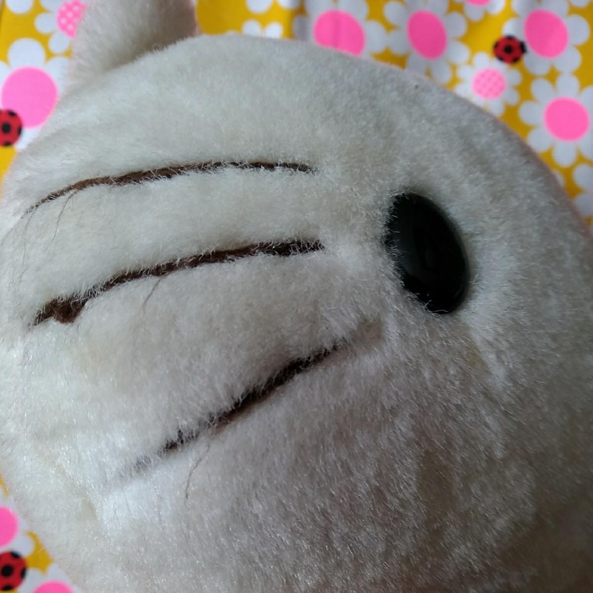 年代物 当時物 昭和 レトロ サンリオ キティ 希少 ぬいぐるみ 人形 30cm 難あり コレクション コレクター 日本製_画像8