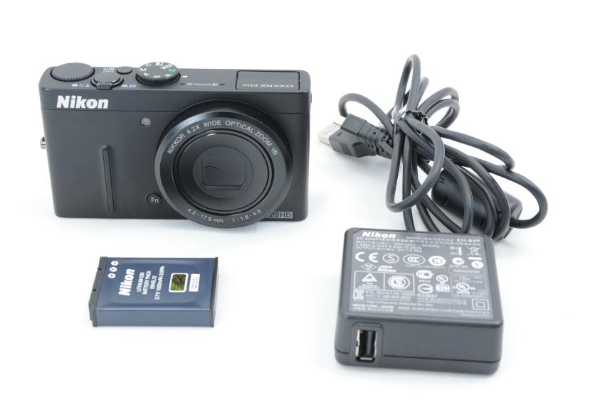 【ecoま】ニコン NIKON COOLPIX P310 ブラック コンパクトデジタルカメラ