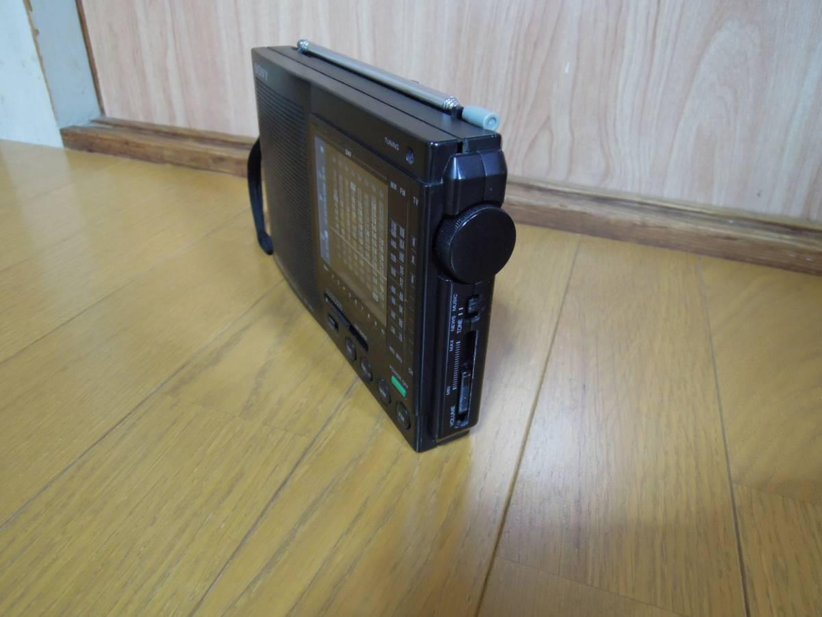 SONY ICF-7601 12-BAND RECEIVER FM/MW/SW RECEPTEUR A 12 BANDES FM/PO/OC ラジオ 短波 ソニー レトロ ジャンク_画像4
