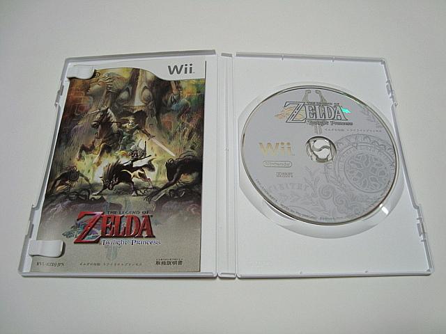 即決 Wii 本体 ゼルダの伝説 スカイウォードソード + トワイライトプリンセス + 風のタクト + 神々のトライフォース VCソフト8本_画像6