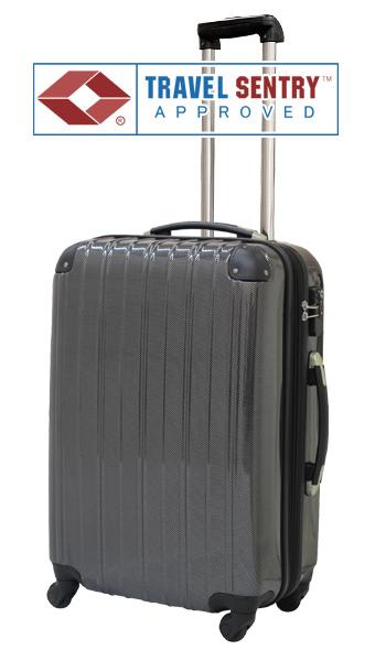 1円~B級アウトレット新品5032セミ大型:カーボン黒/訳ありスーツケースキャリーバッグ旅行バッグ軽量幅拡張式TSAロック搭載6泊~