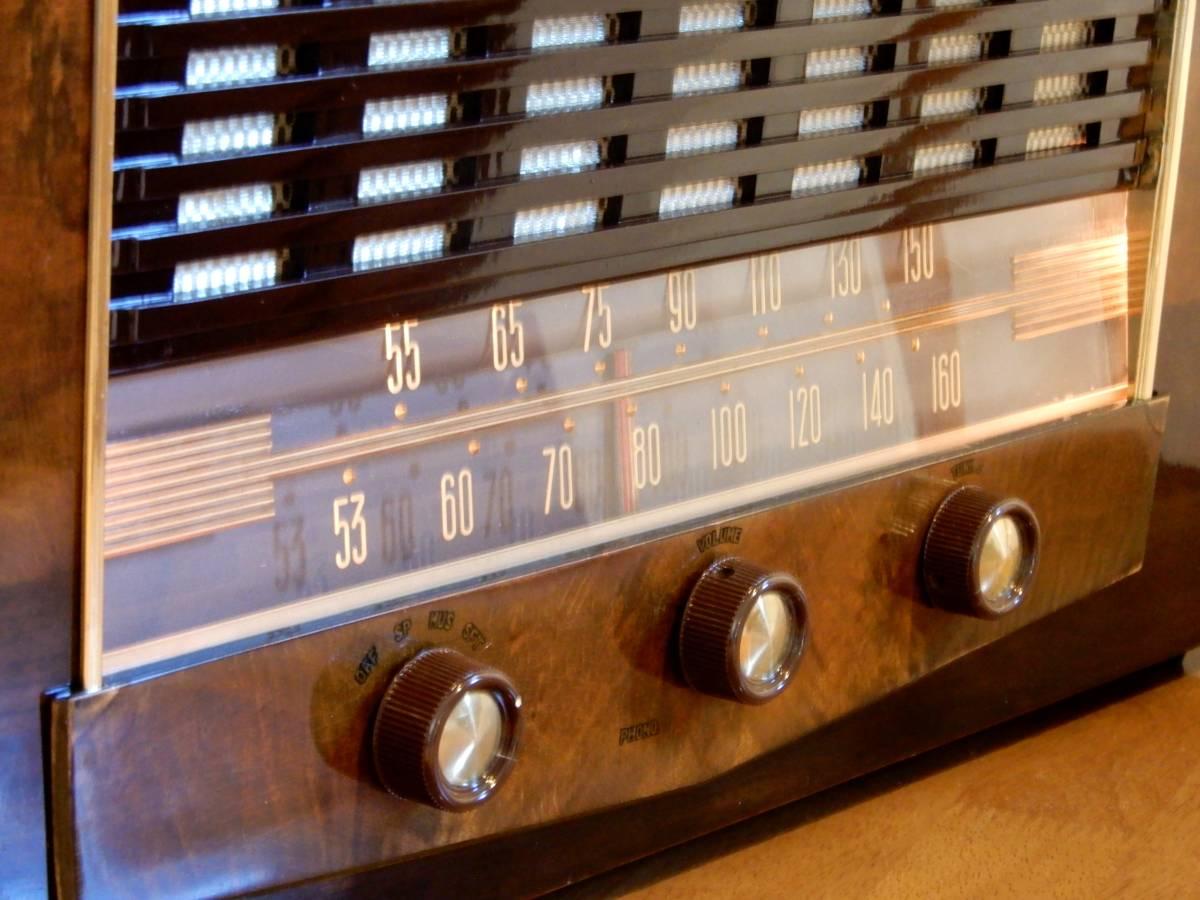 真空管ラジオ ビクター R-700型 【整備済】_画像4