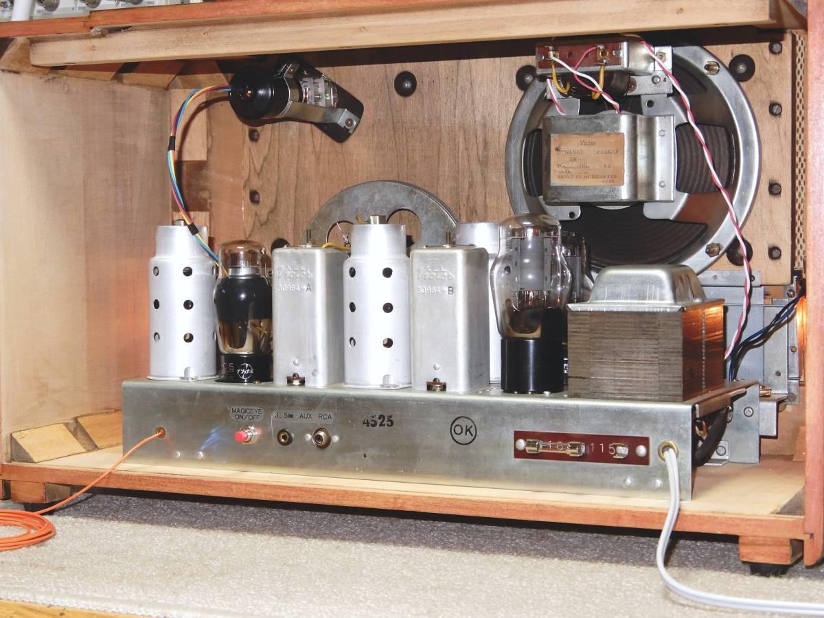 真空管ラジオ ビクター R-700型 【整備済】_画像10
