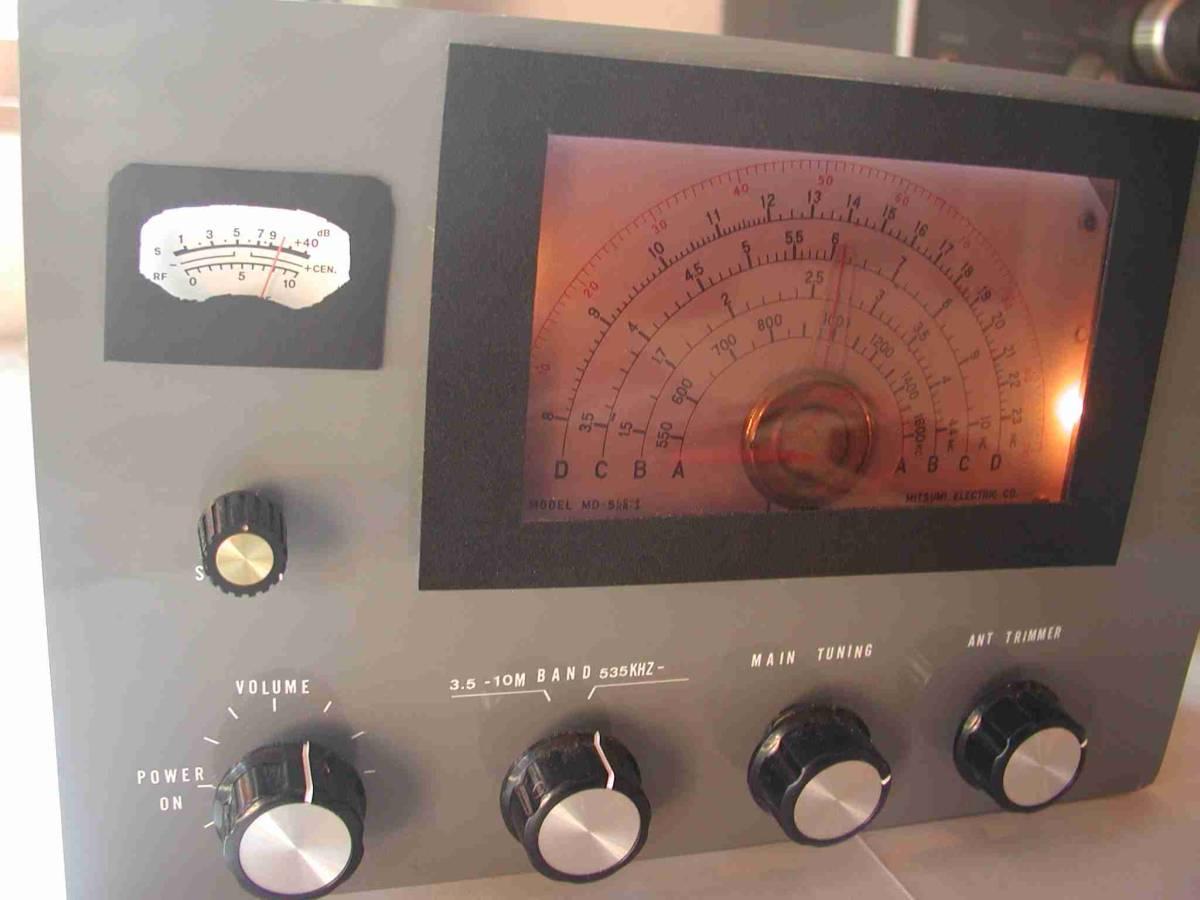 2バンド5球スーパー真空管ラジオ(自作品)_画像2