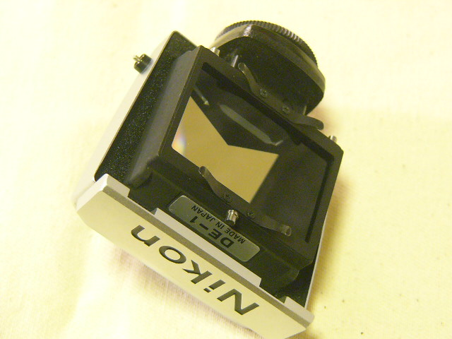 外観綺麗 Nikon ニコン F2/760番台 + アイレベルファインダーDE-1 (実動作・極美品) 腐食無し極上/ジャンク扱い_画像6