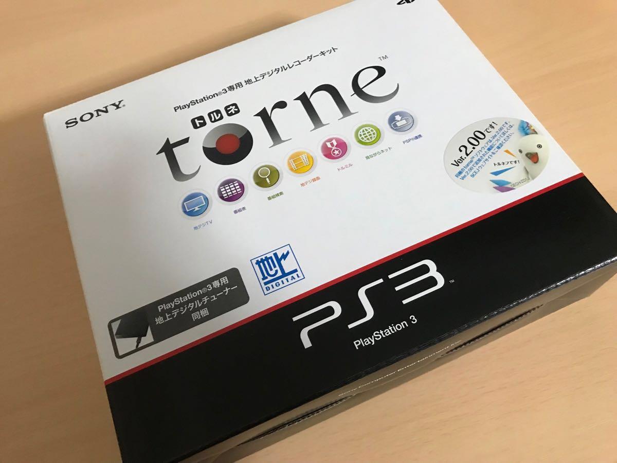 SONY ソニー 【PS3】CECH-2100A テレビゲーム機(ハードディスク1TB換装済)+トルネ、HDMIケーブル1本 ※コントローラーはジャンク扱い_画像5