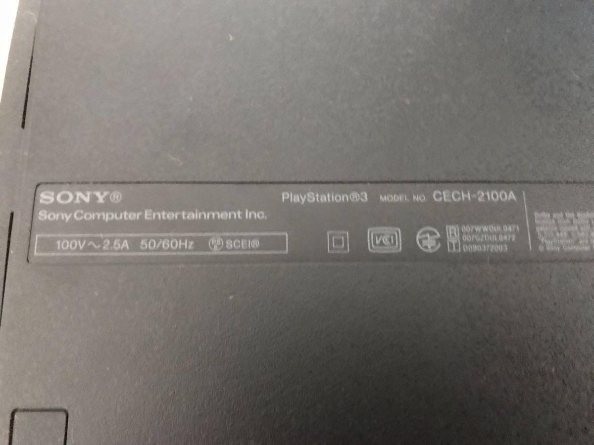 SONY ソニー 【PS3】CECH-2100A テレビゲーム機(ハードディスク1TB換装済)+トルネ、HDMIケーブル1本 ※コントローラーはジャンク扱い_画像6