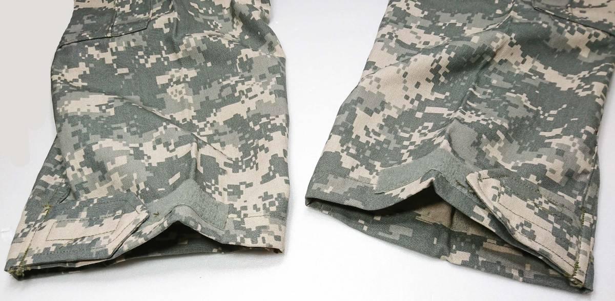 米陸軍 ACU UCP迷彩 難燃性 A2CU エアクルー コンバット トラウザース Size M/L. 回転翼機搭乗員戦闘服パンツ_画像4