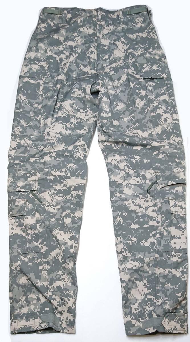 米陸軍 ACU UCP迷彩 難燃性 A2CU エアクルー コンバット トラウザース Size M/L. 回転翼機搭乗員戦闘服パンツ_画像2