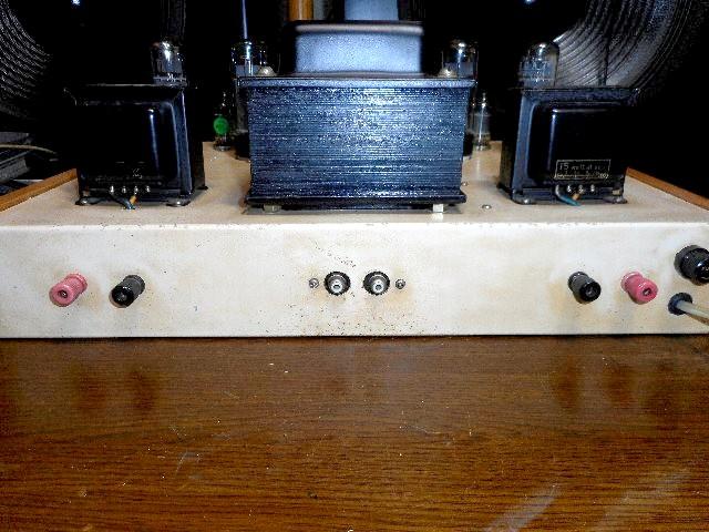 当時物 希少 ウイリアムソン回路 6CA7 三結PPアンプ 自作_画像3