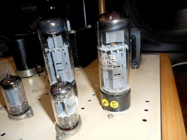 当時物 希少 ウイリアムソン回路 6CA7 三結PPアンプ 自作_画像6