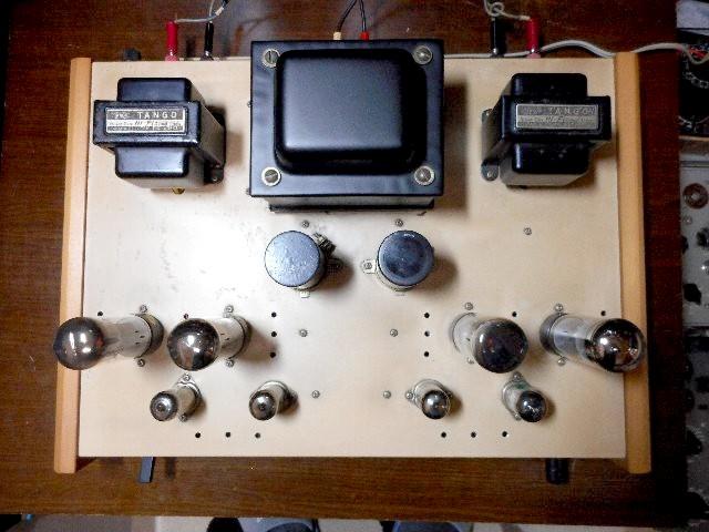 当時物 希少 ウイリアムソン回路 6CA7 三結PPアンプ 自作