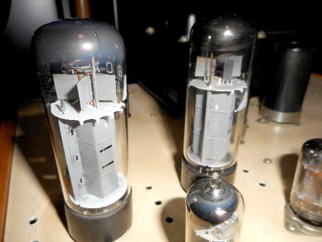 当時物 希少 ウイリアムソン回路 6CA7 三結PPアンプ 自作_画像5