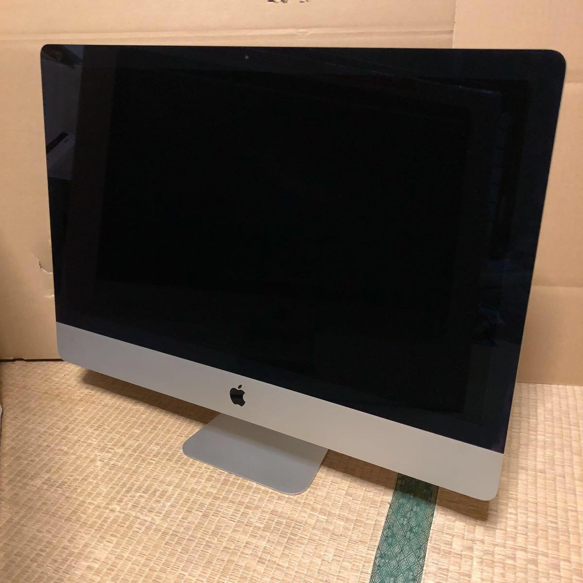 【中古】Apple iMac 27-inch,Late 2013/Core i5 3.4GHz/メモリ16GB/SSD256GB/GTX780M 4GB【送料無料】