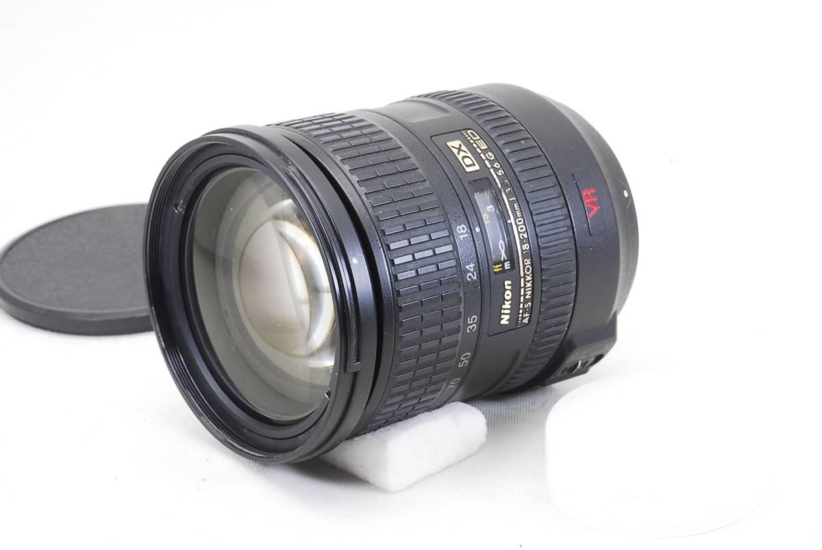 Nikon AF-S Nikkor 18-200mm f3.5-5.6 G ED DX VR SWM IF Lens