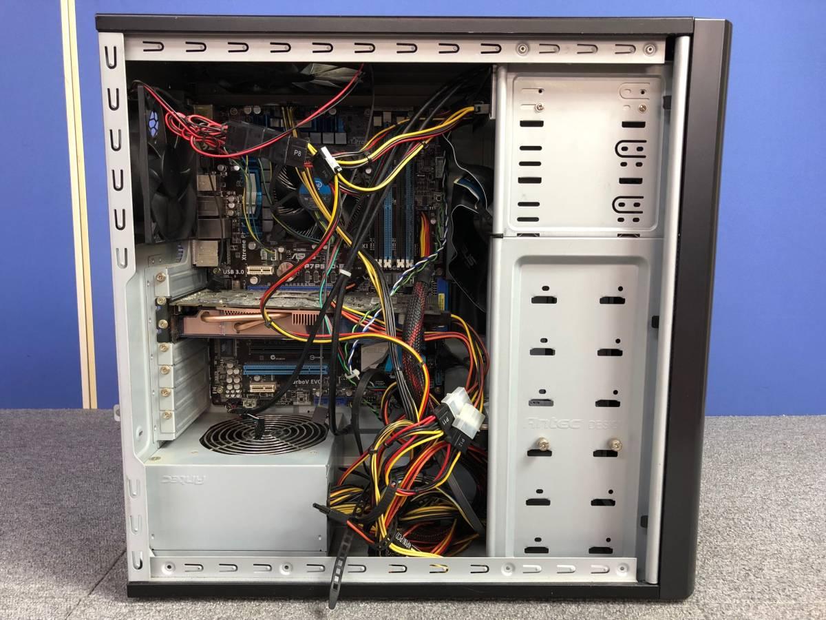 01-A325M【自作PC】Core i7/4GB/500GB/DVDマルチ/Radeon HD4800★Windows10 Pro★_画像5
