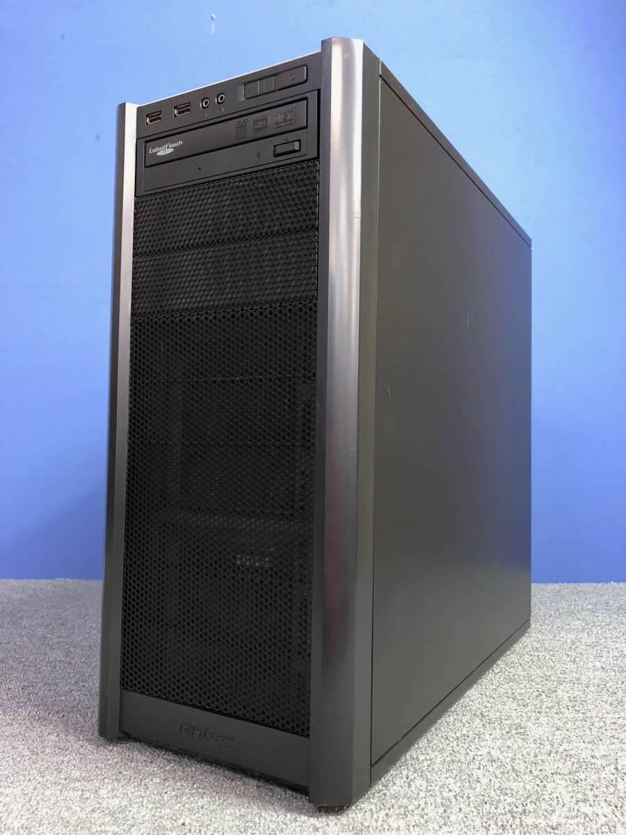 01-A325M【自作PC】Core i7/4GB/500GB/DVDマルチ/Radeon HD4800★Windows10 Pro★