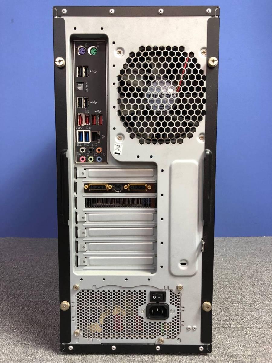 01-A325M【自作PC】Core i7/4GB/500GB/DVDマルチ/Radeon HD4800★Windows10 Pro★_画像3