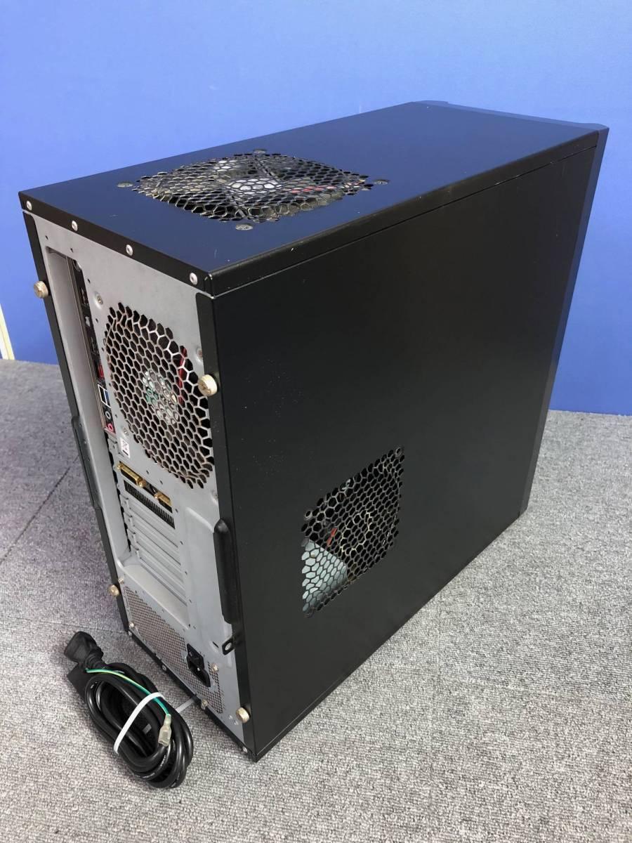 01-A325M【自作PC】Core i7/4GB/500GB/DVDマルチ/Radeon HD4800★Windows10 Pro★_画像2