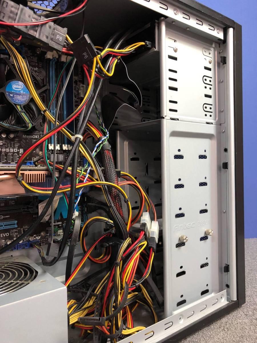 01-A325M【自作PC】Core i7/4GB/500GB/DVDマルチ/Radeon HD4800★Windows10 Pro★_画像7