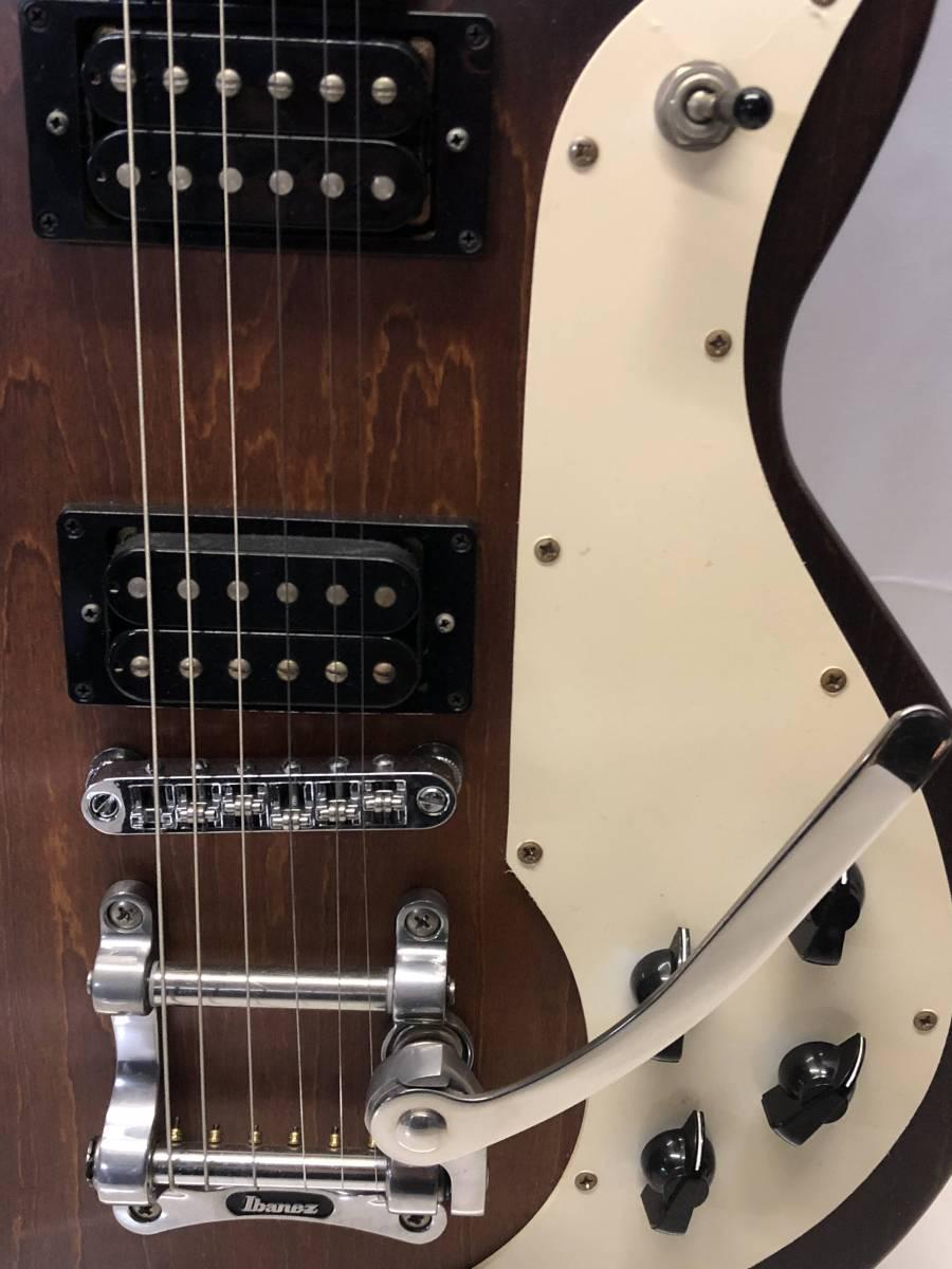 [中古 エレキギター綺麗 ケース付]Ibanez AMF73T-TF-12-01_画像3