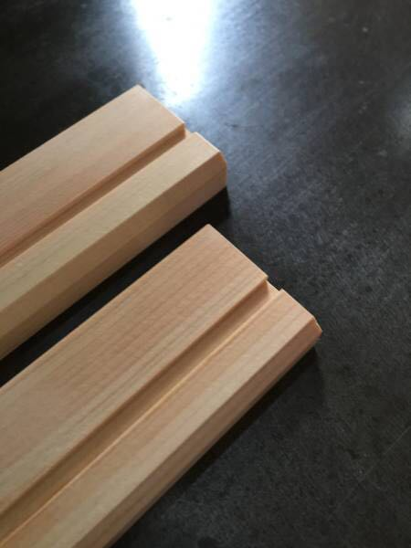 四万十檜com 柾目見切り・巾木 10×32×3000 DIY リホーム フローリング ひのき 檜 桧 板 床材 カンナ仕上げ 四万十ひのき 桧の香り_※上質材です