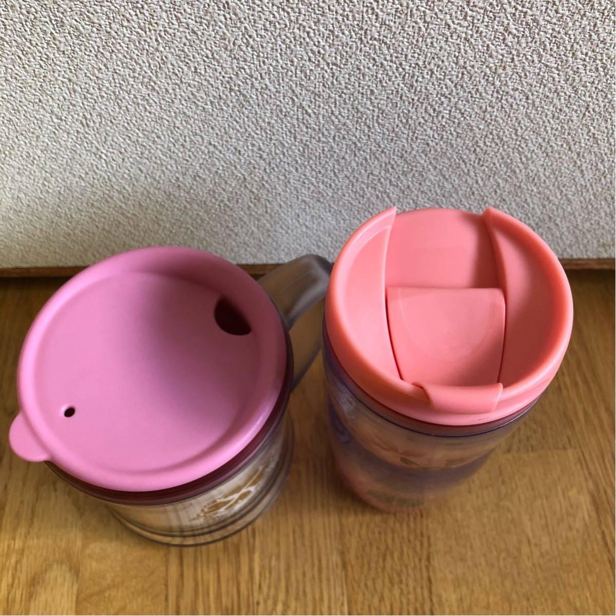 送料込み★スターバックス タンブラー&コーヒーカップ★SAKURA ピンクハート★_画像3