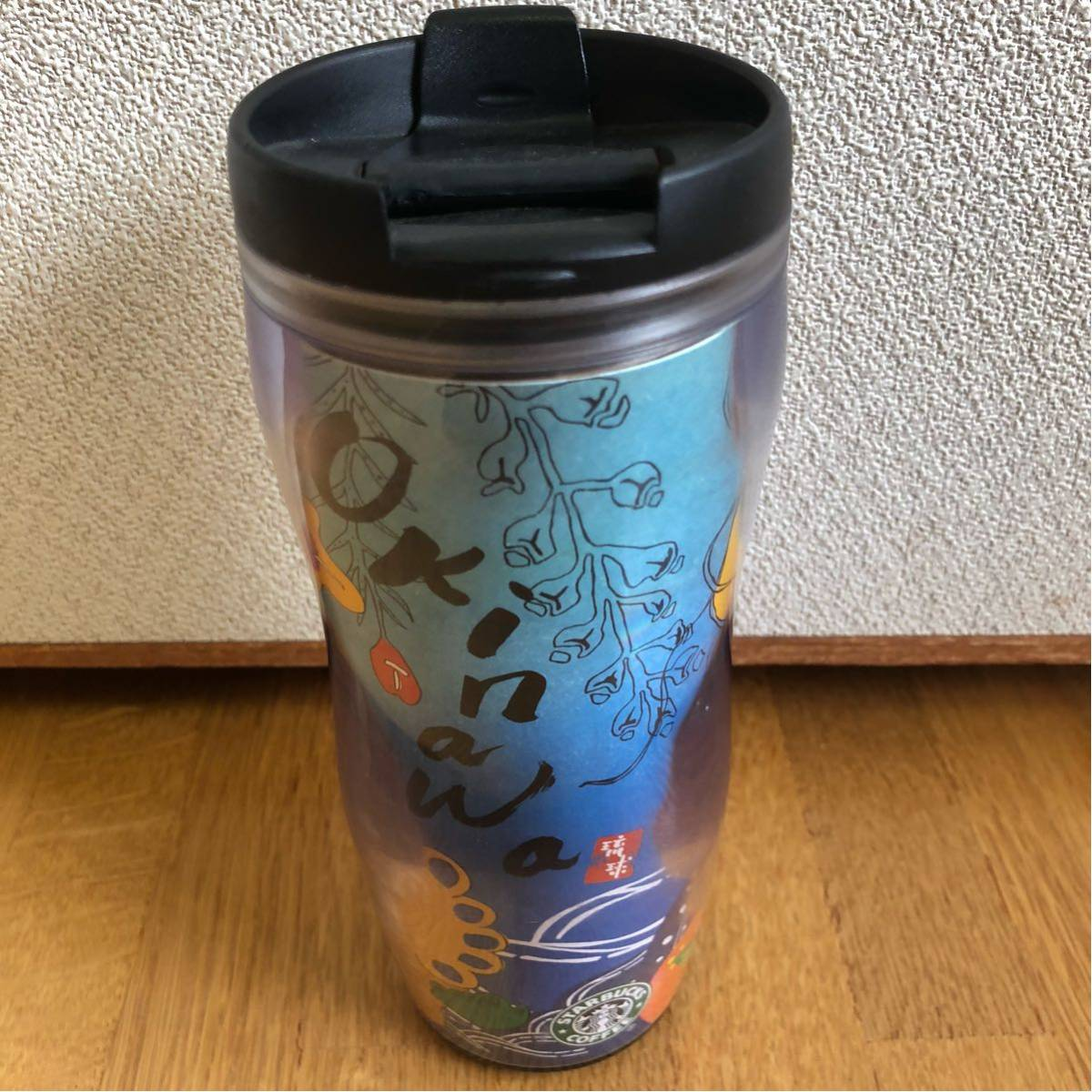 送料込み★スターバックス タンブラー★Okinawa 沖縄 琉球 シーサー_画像2