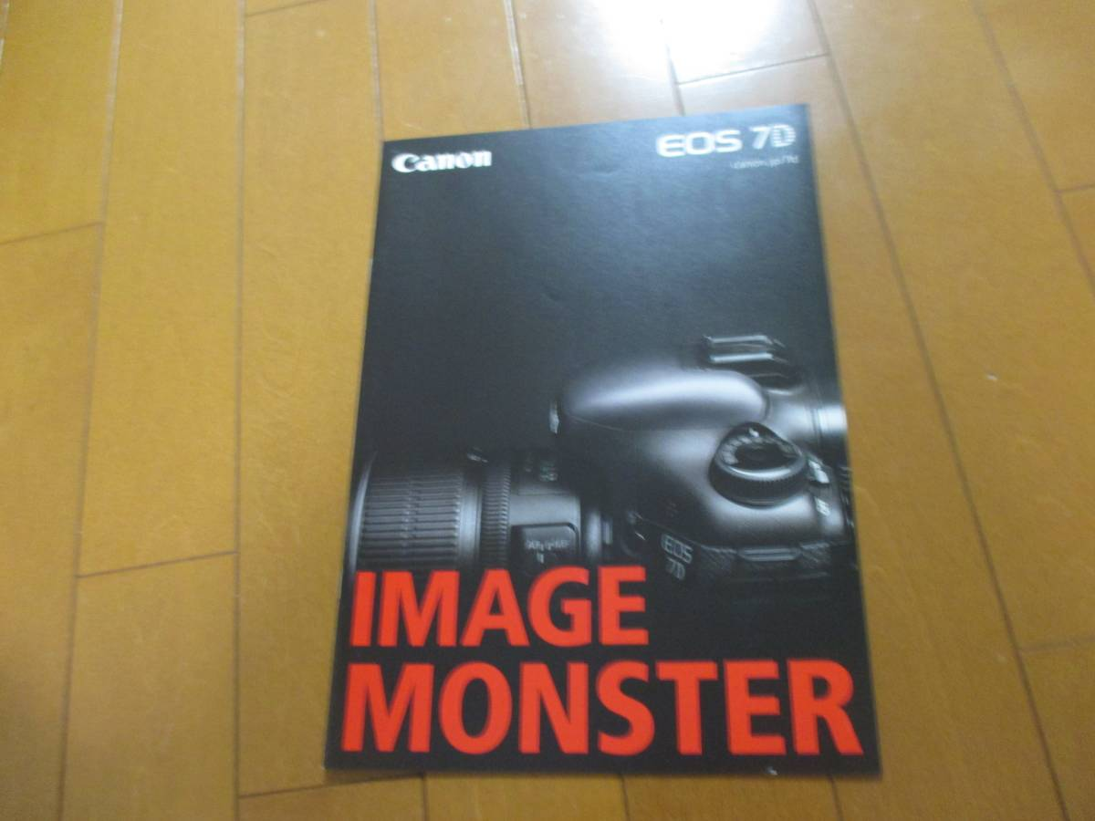 B13915カタログ◆キャノン*EOS 7D Canon2010.11発行19ページ